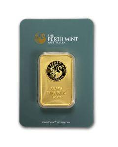 10 oz Perth Mint Gold Bars