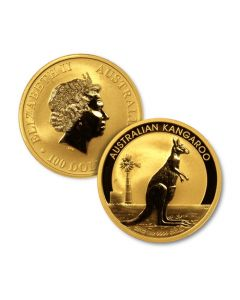 1 oz Perth Mint Gold Kangaroo