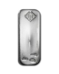 Johnson Matthey/Englehart 100 oz Silver bars
