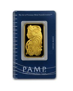 1 oz PAMP SUISSE Gold Bar