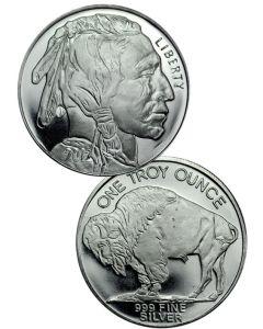1 oz Silver Buffaloes