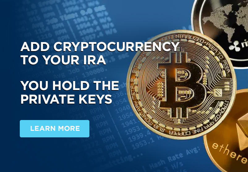 Add Crypto to your IRA - LEARN MORE